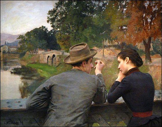 Emile-Friant-Les-amoureux-1888