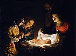 243px-Gherardo_delle_Notti_o_Gheritt_van_Hontorst_-_Adorazione_del_Bambino_-_Google_Art_Project